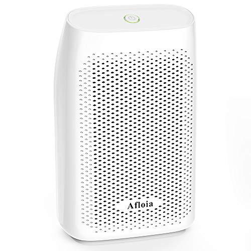 Afloia 700ML Déshumidificateur de Maison Absorbeur d'Humidité Absorbe 300ML par Jour Déssicant d'Air avec Réservoir Détachable, pour Maison Cuisine Salle de Bain