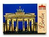 City Souvenir Shop Magnet Berlin Brandenburger Tor Bei Nacht
