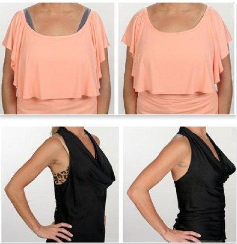 Fascia adesiva tessile per la pelle a doppio lato - 5 metri - ideale per fissaggio alla scollatura dell'abito