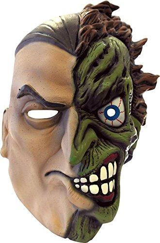 Two Harvey Kostüm Face Dent - Rubie's Vollgesichtsmaske Batman für Erwachsene
