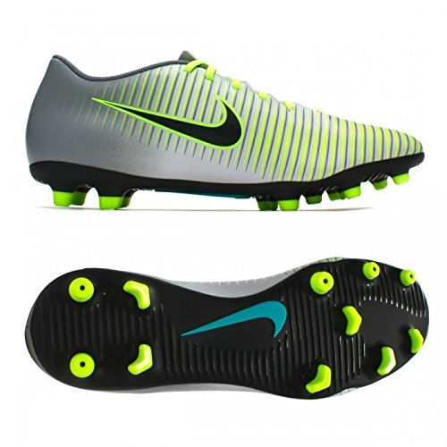 Nike Uomo Mercurial Vortex Iii Fg scarpe da calcio argento Size: 43