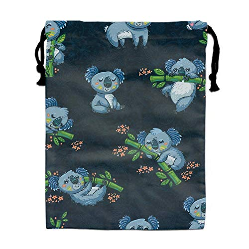 Einst Adorable Koalas Love Bamboos Kids Turnbeutel Rucksack Polyester Gym Dance Bag