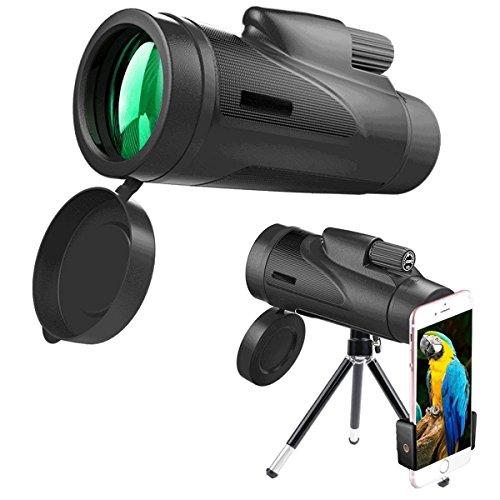HYX Monocular Telescope 12x50 Großes Okular HD High-Definition-Low-Light-Outdoor-Konzert Kann Verbunden Werden Cellular Phone Telescope -