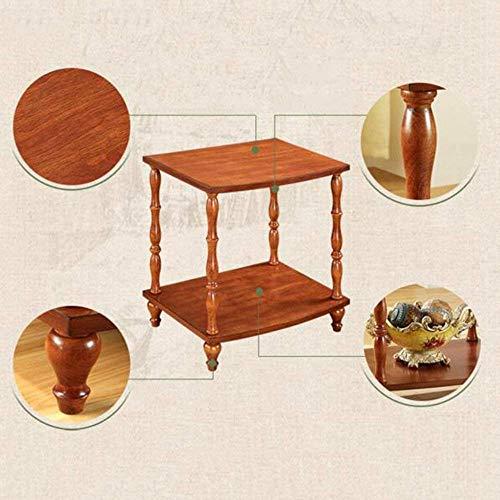 Seite Tee-tabelle (DEED Kleine Tabelle Haushalts-Quadrat-hölzerner Seiten-Tee-Kaffee-einfache Moderne Schlafzimmer-einfache Studien-Tabelle)