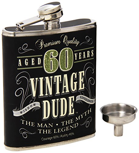 Laid Back CF11020 60Th Bd Vintage Dude Thermosflasche, 200 ml, mehrfarbig