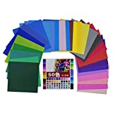 Asian Hobby Crafts Origami Paper (50 Sheets, 100x100mm)