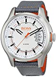Hugo Boss Orange Hong Kong Mens Quartz Analogue Classic Grey Rubber Strap 1550015