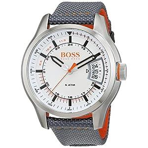 Hugo Boss Orange Reloj Analógico para Hombre de Cuarzo con Correa en Tela