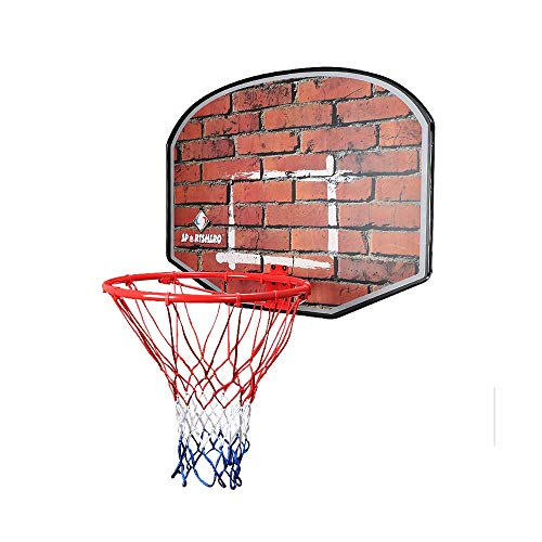 XINGLIAN Innen Basketballbrett Basketball-Vorstand 85x60cm Hölzern An Der Wand Montiert Basketballkorb Hängend Rückwand (Color : A)