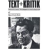 Egon Erwin Kisch (TEXT+KRITIK 67)