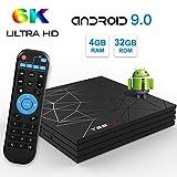 Android 8.1 TV Box Sidiwen A5X MAX 4GB/32GB RK3328 Quad Core 64 bit
