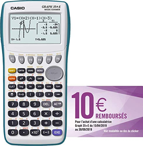 Casio Graph 35+E Calculatrice Graphique
