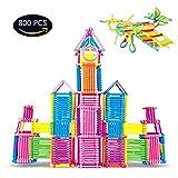infinitoo Costruzioni Bambini Giochi Creativo Bastoncini da Costruzioni con la Scatola Puzzle 3D Gioco Educativo a Sviluppare la creatività per Bambini più di 3anni