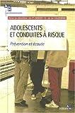 Adolescents et conduites à risque - Prévention et écoute.