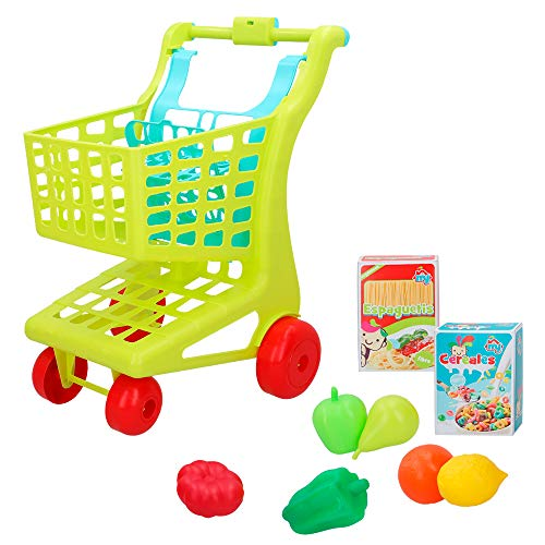 ColorBaby - Carrito supermercado alimentos My Home