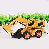 Lorenlli Telecomando divertente dei bambini che costruisce camion Escavatore del cingolo dei giocattoli Giocattoli camion di ingegneria elettronica Giocattolo Escavatore Regalo