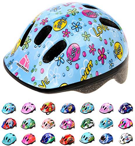meteor Casco Bicicleta Bebe Helmet Bici Ciclismo para Niño - Cascos para Infantil - Bici Casco para Patinete Ciclismo Montaña BMX Carretera Skate Patines monopatines MV6-2