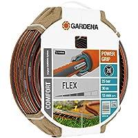 Gardena Comfort Flex Schlauch Formstabiler, Flexibler Gartenschlauch mit Power-Grip-Profil, Spiralgewebe, 25 bar Berstdruck, ohne Systemteile, 13 mm, 1/2 Zoll, 30 m