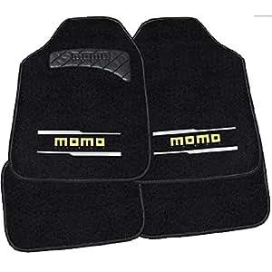 jeu de 4 tapis de sol pour voiture momo universel. Black Bedroom Furniture Sets. Home Design Ideas