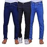 X-Cross Men's Jeans (JK-X-3CM-S&M-5-DRKB...