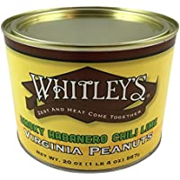 Whitleys Smokey Habanero Chili Lime Virginia Peanuts 20 Oz.