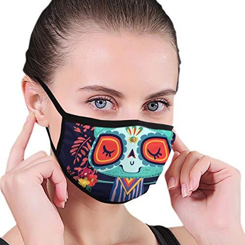 Cat Decor Day Dead Cartoon Vector Fashion Mask Cold Mask Mask Ski Mask Winter Mask