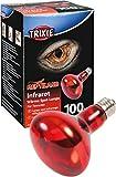 Trixie 76097 Infrarot Wärme-Spotlampe, 100 W ø 80/110 mm
