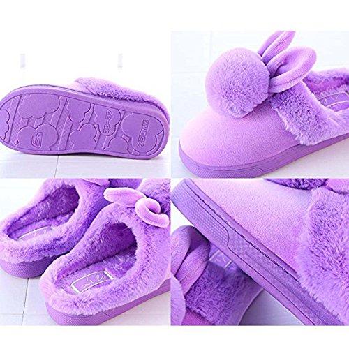 Pantofole Invernali Pantofole Morbide Pantofole Antiscivolo Pantofole Morbide Pantofole Di Cotone Pantofole Morbide Morbide Pantofole Rosa 2