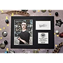 Maisie Williams Firmado autógrafo pantalla – Arya Stark – Juego de Tronos ...
