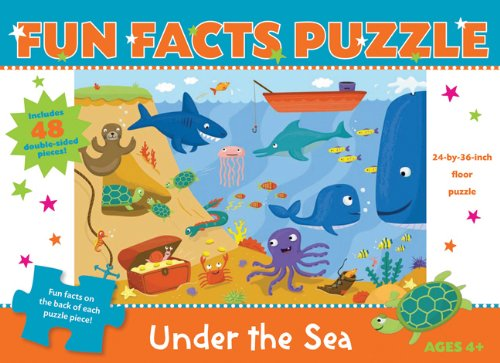 Preisvergleich Produktbild Fun Facts Puzzle: Under the Sea (Fun Facts Puzzles)