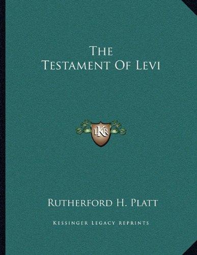 The Testament of Levi (Testament Von Levi)