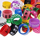 Best Rdas - AST Works 10PCS Vape Band Rings Silicone Ring Review