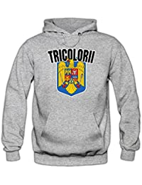 Rumänien EM 2016 #4 Kapuzenpullover | Fußball | Herren | Trikot | Tricolorii | Nationalmannschaft © Shirt Happenz