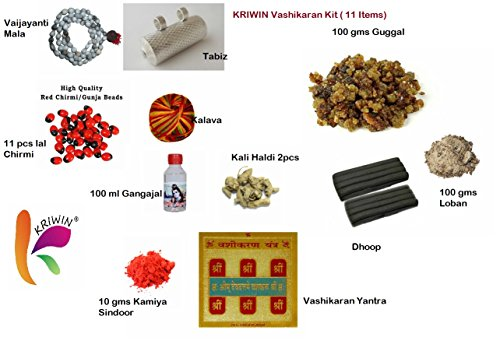 Kriwin Vashikaran Mohini Yantra Kit (11 Items)