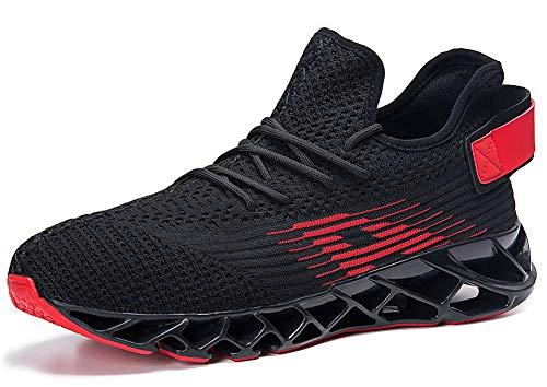premium selection b2c5d 163b4 Homme Femme Chaussures de Sport Respirantes Plein Air Sneaker Running Shoes  pour Trail Entraînement Course Gym