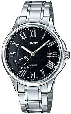 Casio Reloj con movimiento cuarzo japonés Man Mtp-E116D-1A 37.0 mm