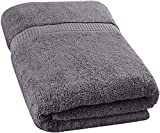 Utopia Towels - Soft Cotton Machine Washable Extra Large Bath Towel (89 x 178 cm) - Luxury Bath Sheet (Grey)