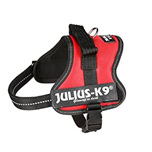 Julius-K9 162R-MM K9 PowerHarness for Dogs, Size Mini-Mini, Red