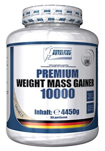 Weight gainer di premium peso 10000, 4450 g cioccolato contiene proteine del siero di latte