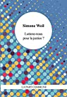 Luttons Nous pour la Justice ? par Weil