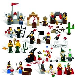 LEGO Education Fairytale and Historic Minifigures Set 779349 (227 Pieces. 22 Different Figures) (japan import)