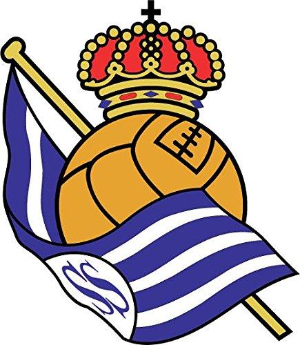 Real Sociedad FC Spain Soccer Football Alta Calidad De Coche De Parachoques Etiqueta Engomada 12 x 12 cm