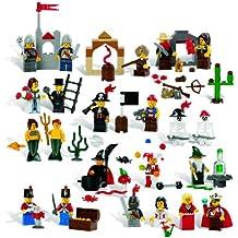 LEGO Education Fairytale and Historic Minifigures Set 779349 (227 Pieces, 22 Different Figures) (japan import)