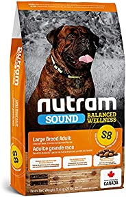 Nutram S8 Sound Balanced Wellness Large Adult Dog Food, 11.4kg