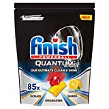 Finish Quantum Ultimate Dishwasher Tablets Lemon Scent, 85 Tablets