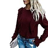 Yanhoo-Bekleidung Damen Hoodie Kapuzenpullover Pullover Mit Kapuze Cross-Over-Kragen Und Fleece-Innenseite