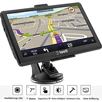 Intelligent Auto-Navigation LKW-Navigation Womdee GPS Navigation System f/ür Auto Spielen FM Radio und Musik 2019 Neueste Karte Fahrzeug GPS System mit 7 Zoll LCD Touchscreen