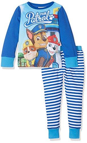 Paw Patrol Boy's Chase, Marshall and Rubble Character Pyjama Set