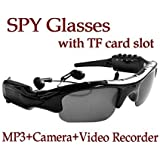 Electro-Weideworld -Sunglasses With Camera and MP3 Player Mini