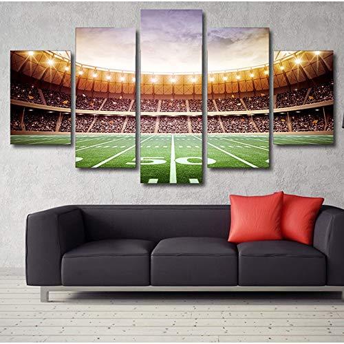 Wunderschön Digitaldruck mosaik dekorative malerei handwerk malerei fünf liga feld wandmalerei studie hängen malerei veranda wandbild (20 * 35 * 2 20 * 45 * 2 20 * 55 * 1 inneren rahmen malerei)